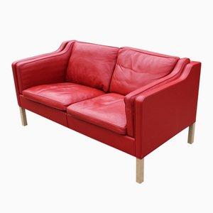 Dänisches 2212 Sofa mit Zwei Sitzen von Børge Mogensen für Fredericia Furniture, 1980er
