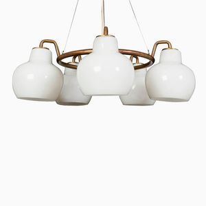 Christiansborg Chandelier by Vilhelm Lauritzen for Louis Poulsen, 1950