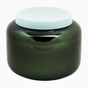 Container Low in Schwarz und Graugrün