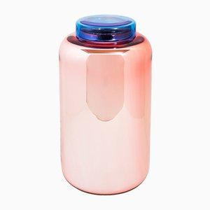 Container High en Rose Poussière et Bleu par Sebastian Herkner pour Pulpo