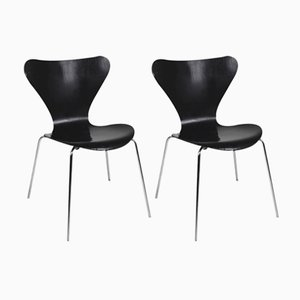 Serie 7 Stühle von Arne Jacobsen für Fritz Hansen, 1979, 2er Set