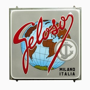 Vintage Geloso Advertisement Neon Sign