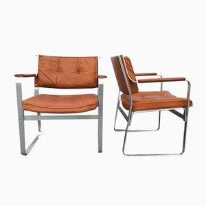 Swedish Mondo Chairs by Karl Erik Ekselius for JOC, 1960s, Set of 2