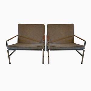 Verchromte Deutsche FK 6720 Sessel von Fabricius & Kastholm für Kill International, 1960er