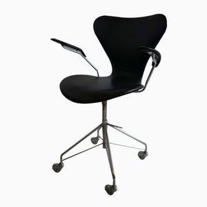 Danish 3217 Office Chair by Arne Jacobsen for Fritz Hansen, 1963