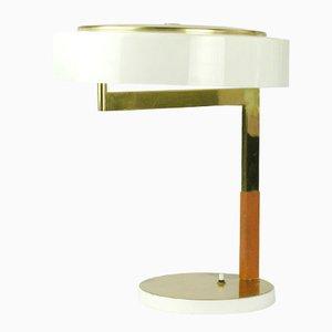 Austrian Modernist Brass Desk Lamp by J.T. Kalmar for Kalmar, 1960s