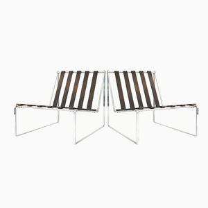 Lounge Chairs by Kho Liang Le for Artifort, 1962, Set of 2