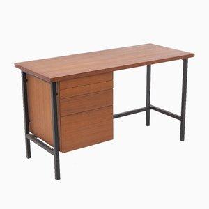 Schreibmaschinentisch aus Teakholz und Stahl von Florence Knoll für Knoll International, 1960er
