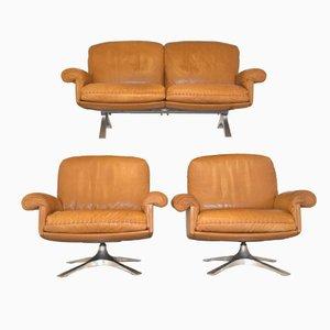 Vintage DS 31 Sofa und Sessel von De Sede, 3er Set