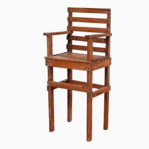 Chaise pour Enfants Moderniste, Pays-Bas, 1950s