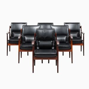 Model 431 Armchairs by Arne Vodder for Sibast, Set of 6