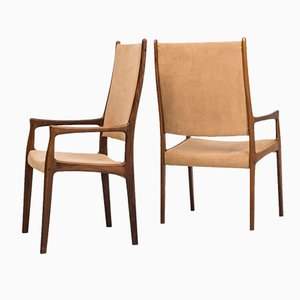 Mid-Century Dining Chairs by Johannes Andersen, Set of 8