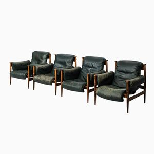 Easy Chairs by Eric Merthen for Ire, Set of 4