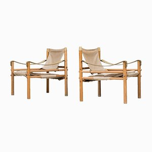Sirocco Easy Chairs by Arne Norell for Arne Norell AB, Set of 2