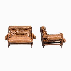 Brasilianische Sessel von Jean Gillon für Italma Wood Art, 1960er, 2er Set