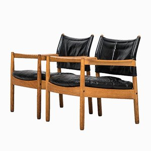 Swedish Easy Chairs by Gunnar Myrstrand for Källemo, 1960s, Set of 2
