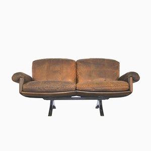 Schweizer Vintage DS 31 Zwei-Sitzer Sofa von De Sede