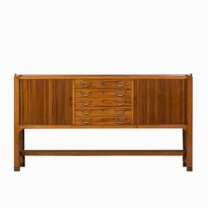 Mahogany Sideboard by David Rosén for Nordiska Kompaniet, 1950s