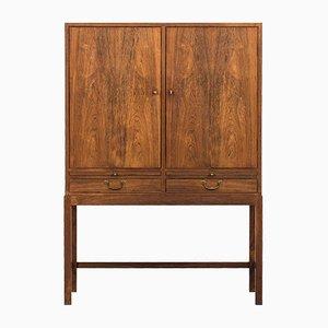 Danish Rosewood Cabinet by Ole Wanscher for Snedkermester A.J Iversen, 1950s