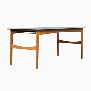 Oak Dining Table by Knud Andersen for J.C.A Jensen, 1950s