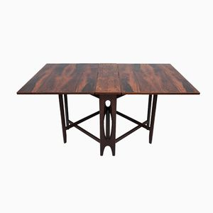 Model 4 Rosewood Dining Table by Bendt Winge for Kleppes