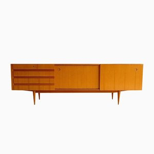 Cherrywood Sideboard with Sliding Doors from Wilhelm Renz