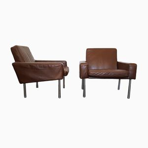 Model 34/1 Airport Chairs by Hans J. Wegner for A.P. Stolen, 1960s, Set of 2