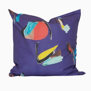 Square Purple Pod Pillow by Naomi Clark for Fort Makers