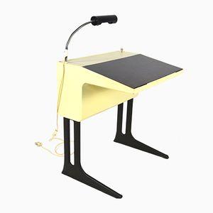 Kleiner Deutscher Schreibtisch von Luigi Colani für Flötotto, 1970er