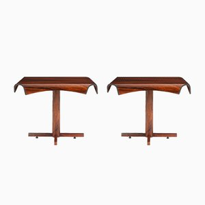 Brazilian Side Tables by Jorge Zalszupin for L'Atelier, 1965, Set of 2
