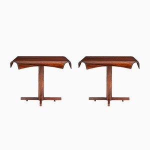 Tavolini di Jorge Zalszupin per L'Atelier, Brasile, 1965, set di 2