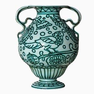 Keramikvase von Casa dell´Arte, 1922