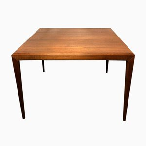 Mid-Century Cubic Teak Coffee Table by Johannes Andersen for CFC Silkeborg