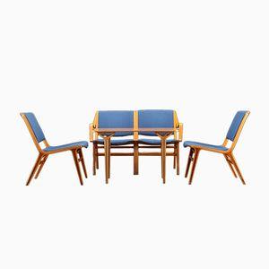 AX Lounge Set by Peter Hvidt & Orla Mølgaard-Nielsen for Fritz Hansen