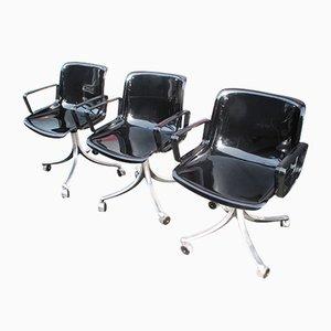 Modus 4 Chairs by Osvaldo Borsani, 1973, Set of 3