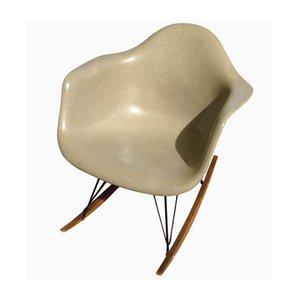 Beiger RAR Schaukelstuhl von Charles & Ray Eames für Herman Miller, 1970