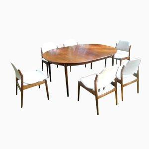 Danish Rosewood Dining Set by Arne Vodder for Sibast, 1960s