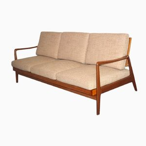 Danish Mid-Century 3-Seater Sofa & Daybed