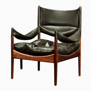 Danish Rosewood Lounge Chair by Kristian Vedel for Søren Willadsen Møbelfabrik