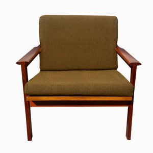 Danish No. 4 Capella Chair by Illum Wikkelso for N. Eilersen, 1960s