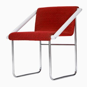 Czech Tubular Steel Ladies' Chair, 1960
