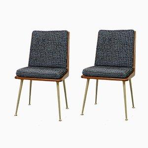 German Boomerang Chairs by Hans Mitzlaff for Eugen Schmidt, 1950s, Set of 2
