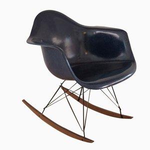 Vintage Schalen Schaukelstuhl von Charles & Ray Eames für Herman Miller