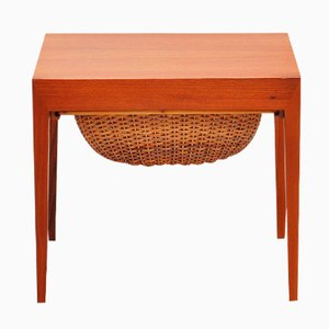Sewing Table by Severin Hansen for Haslev Denmark, 1955
