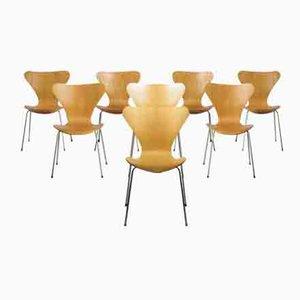 Series Seven Stühle von Arne Jacobsen für Fritz Hansen, 8er Set