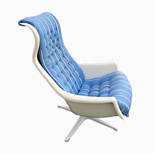 Swedish Galaxy Chair by Alf Svensson and Yngve Sandström for Dux, 1970s