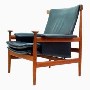Model 152 Bwana Lounge Chair by Finn Juhl for France & Søn, 1962