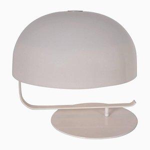 Lampada da tavolo bianca di Marco Zanuso per O-Luce, anni '60
