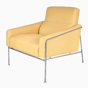 Dänisch Airport Stuhl von Arne Jacobsen für Fritz Hansen, 1960er