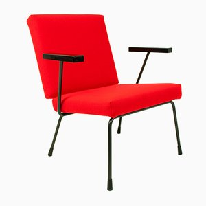 415/1401 Chair by Wim Rietveld for Gispen, 1950s